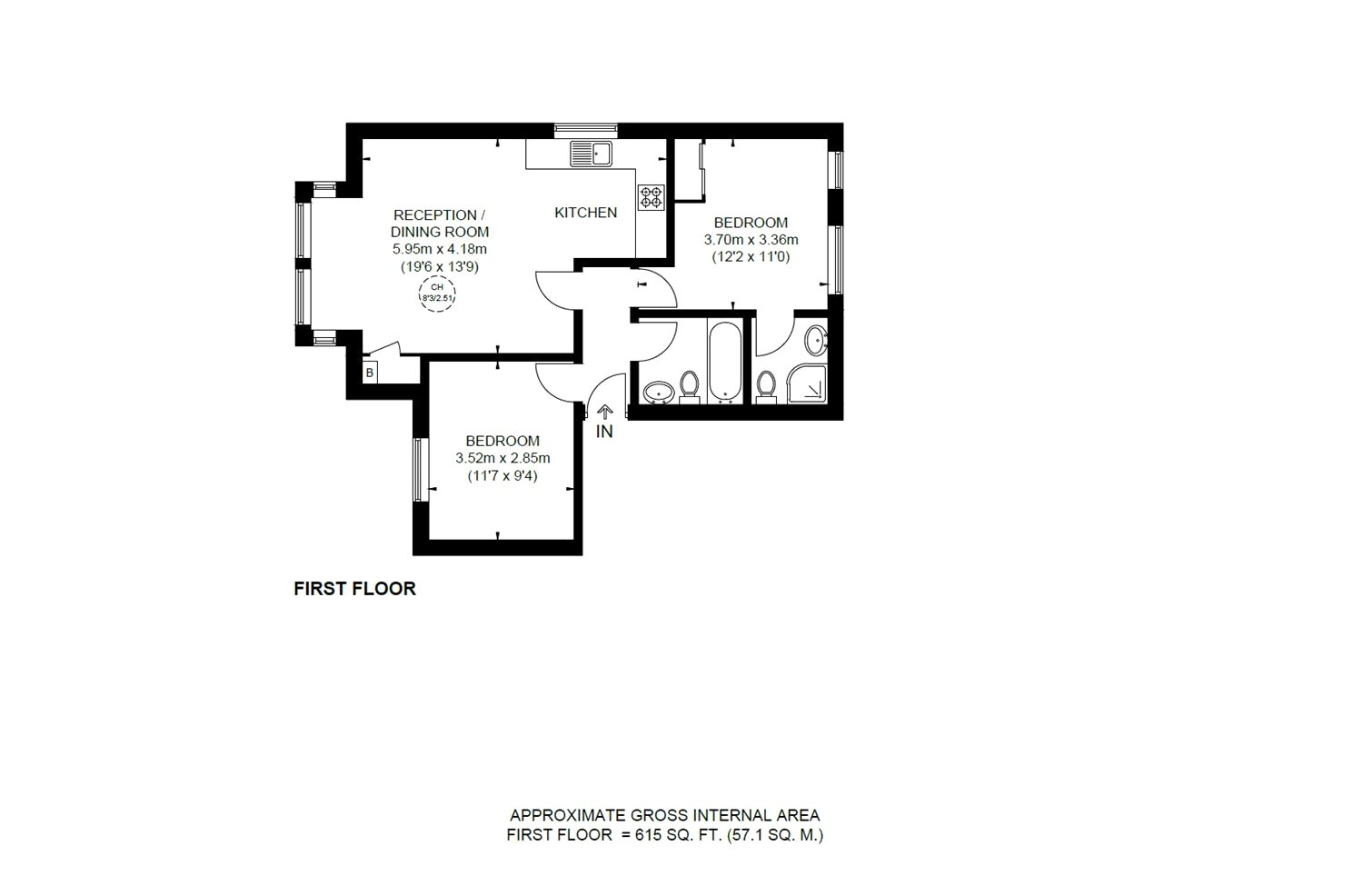 2 Bedrooms Flat for sale in Shoot-Up Hill, London NW2