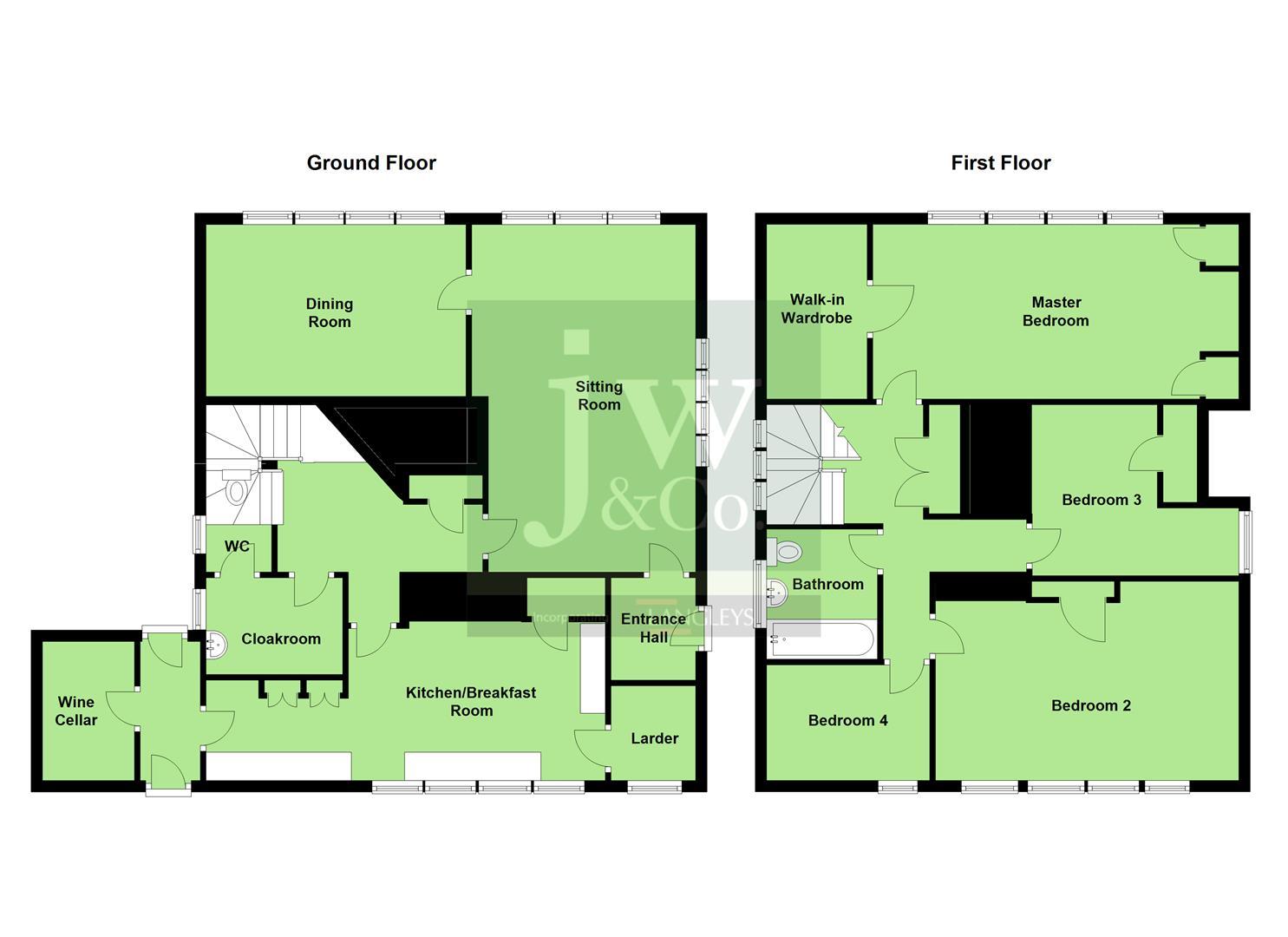 Grange Road Bushey Wd23 4 Bedroom Detached House For