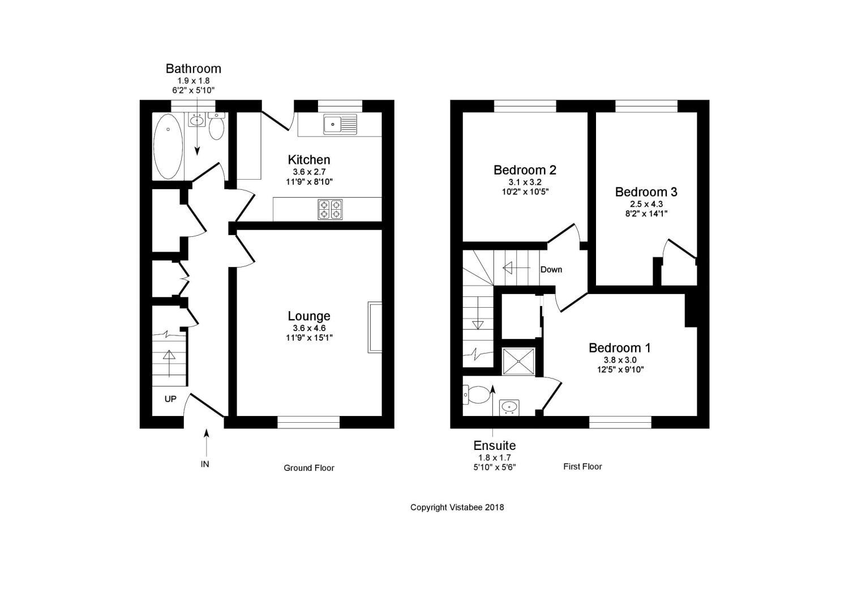 3 Bedrooms Semi-detached house for sale in Mcneill Crescent, Gargunnock, Stirling, Stirlingshire FK8