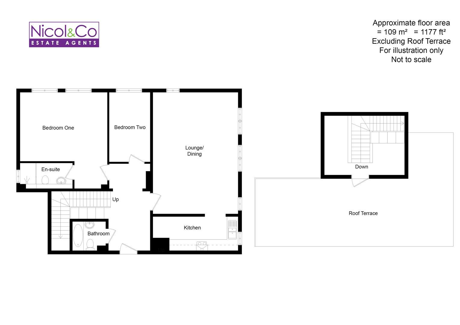Sansome Walk Worcester Wr1 2 Bedroom Flat For Sale