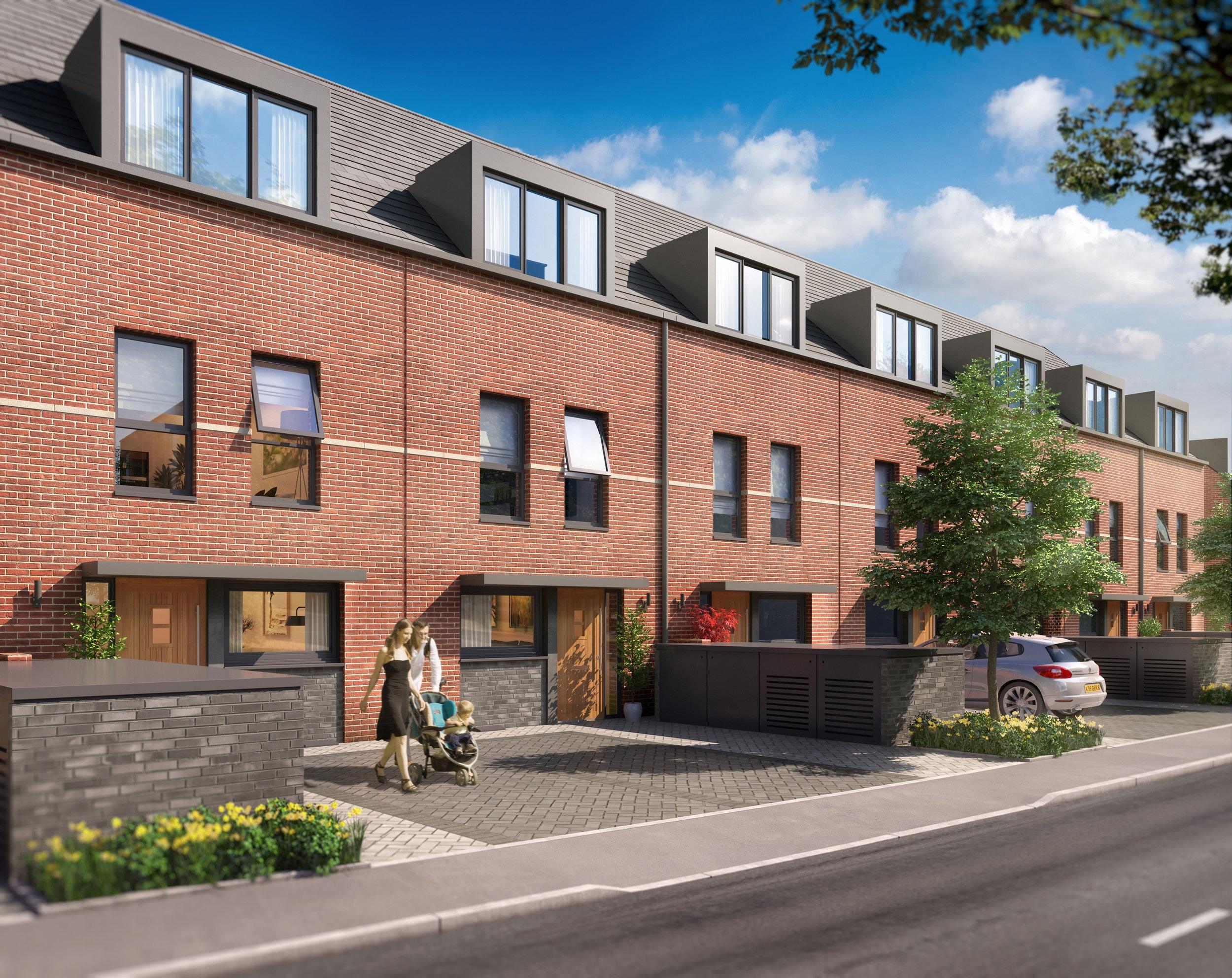 4 bedroom terraced house for sale in bolingbroke park for 67 park terrace east