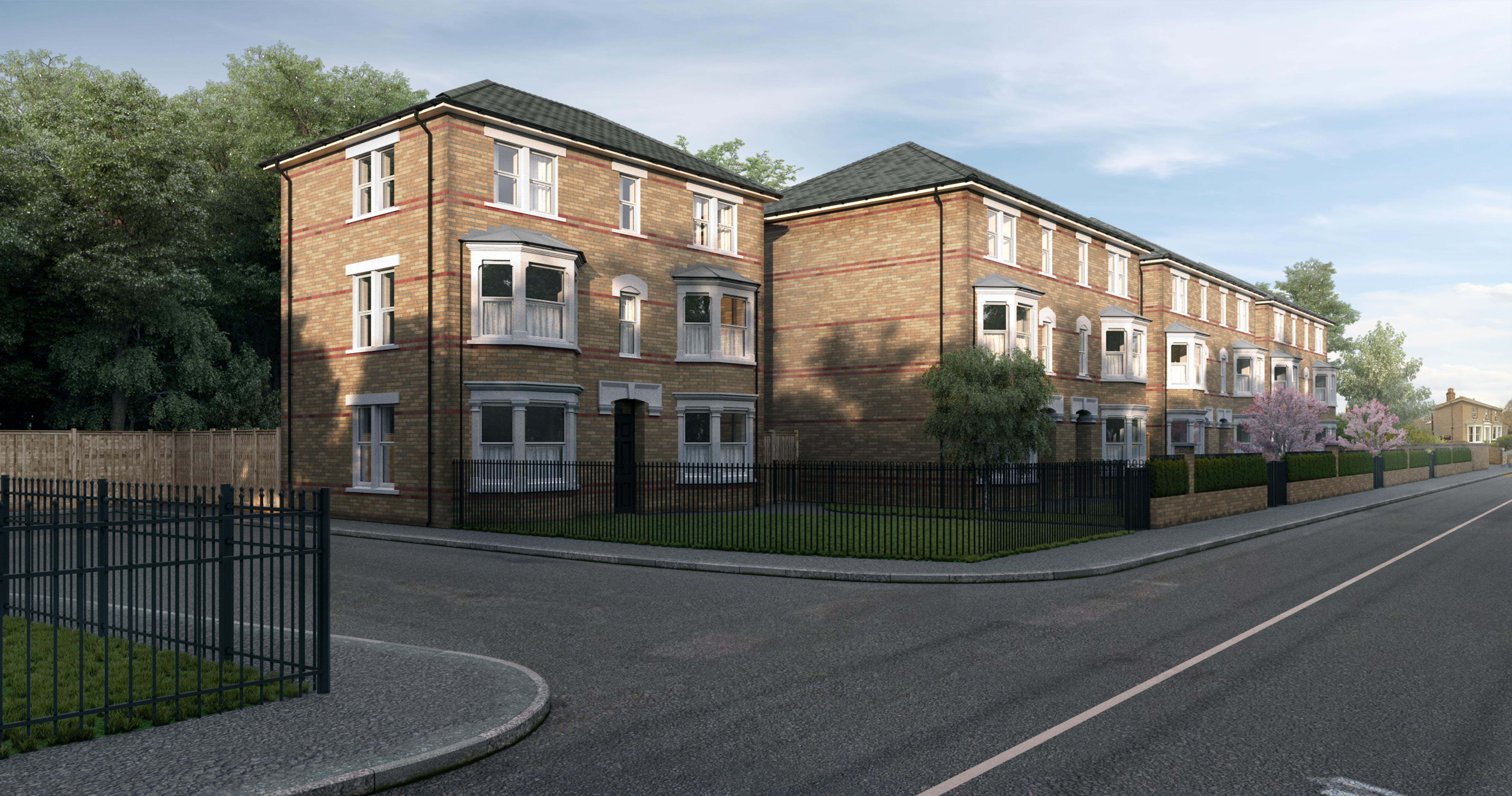 Lusso Homes,Crossrail,Front Elevation
