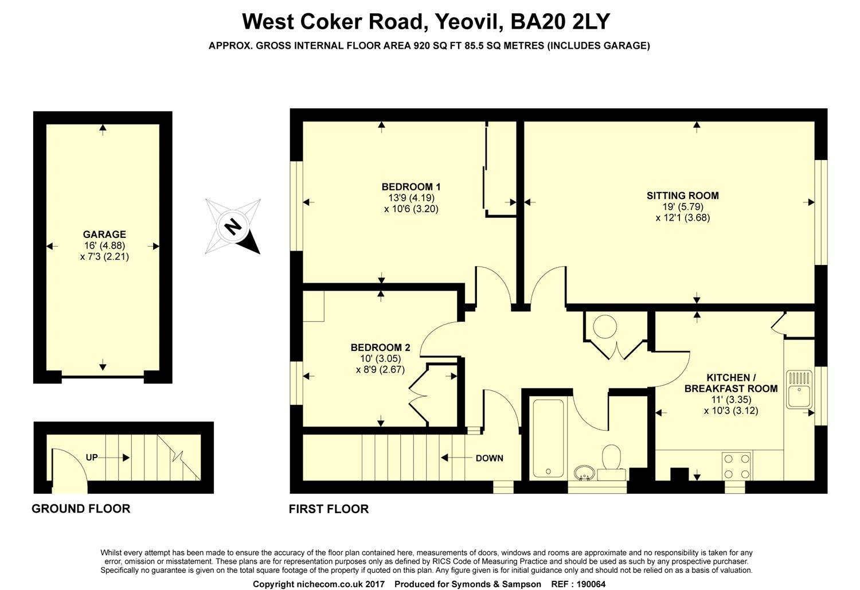 West coker road yeovil somerset ba20 2 bedroom flat for for Bedroom furniture yeovil