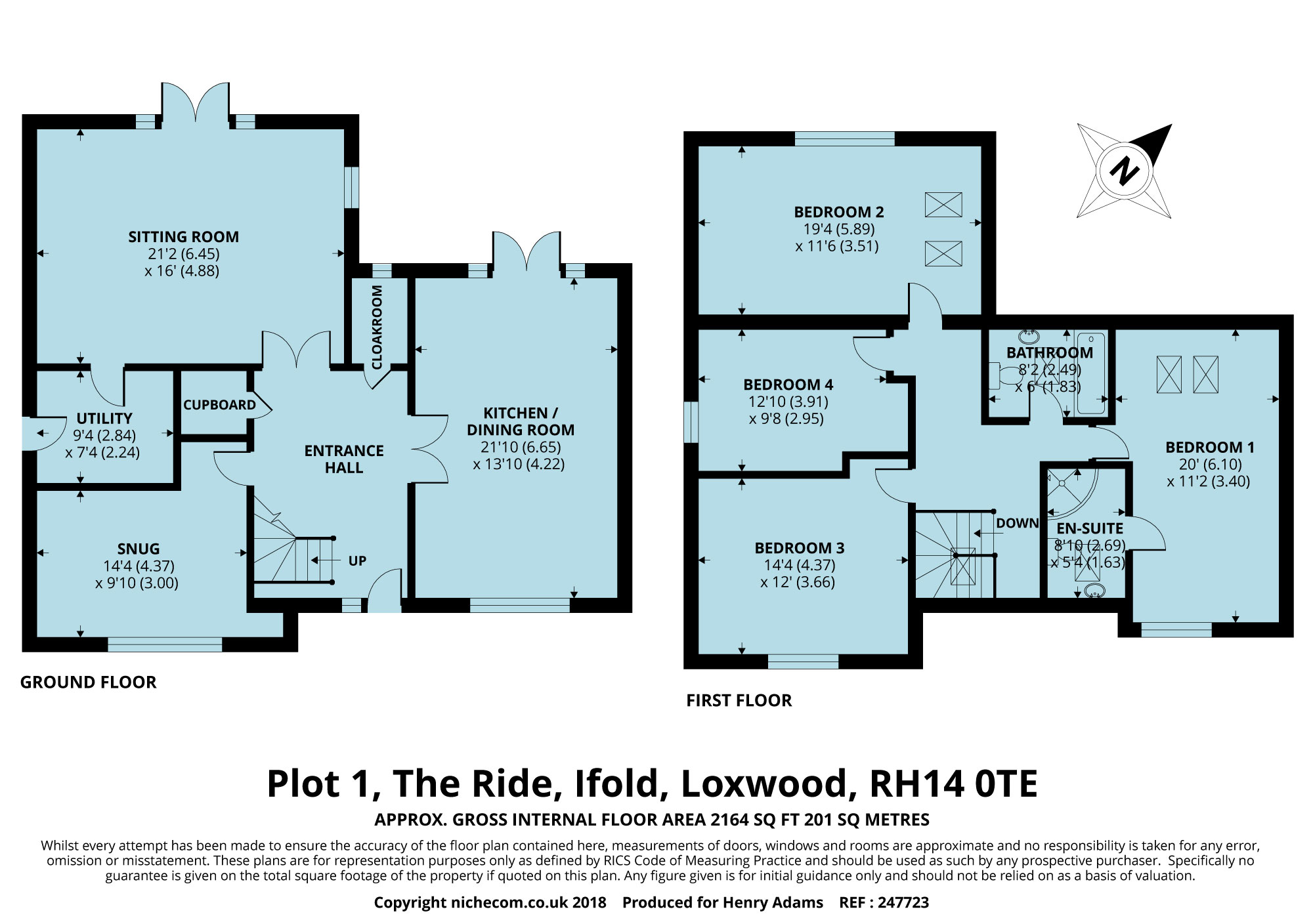 The Ride, Ifold RH14, 4 bedroom detached house for sale - 46918666 ...