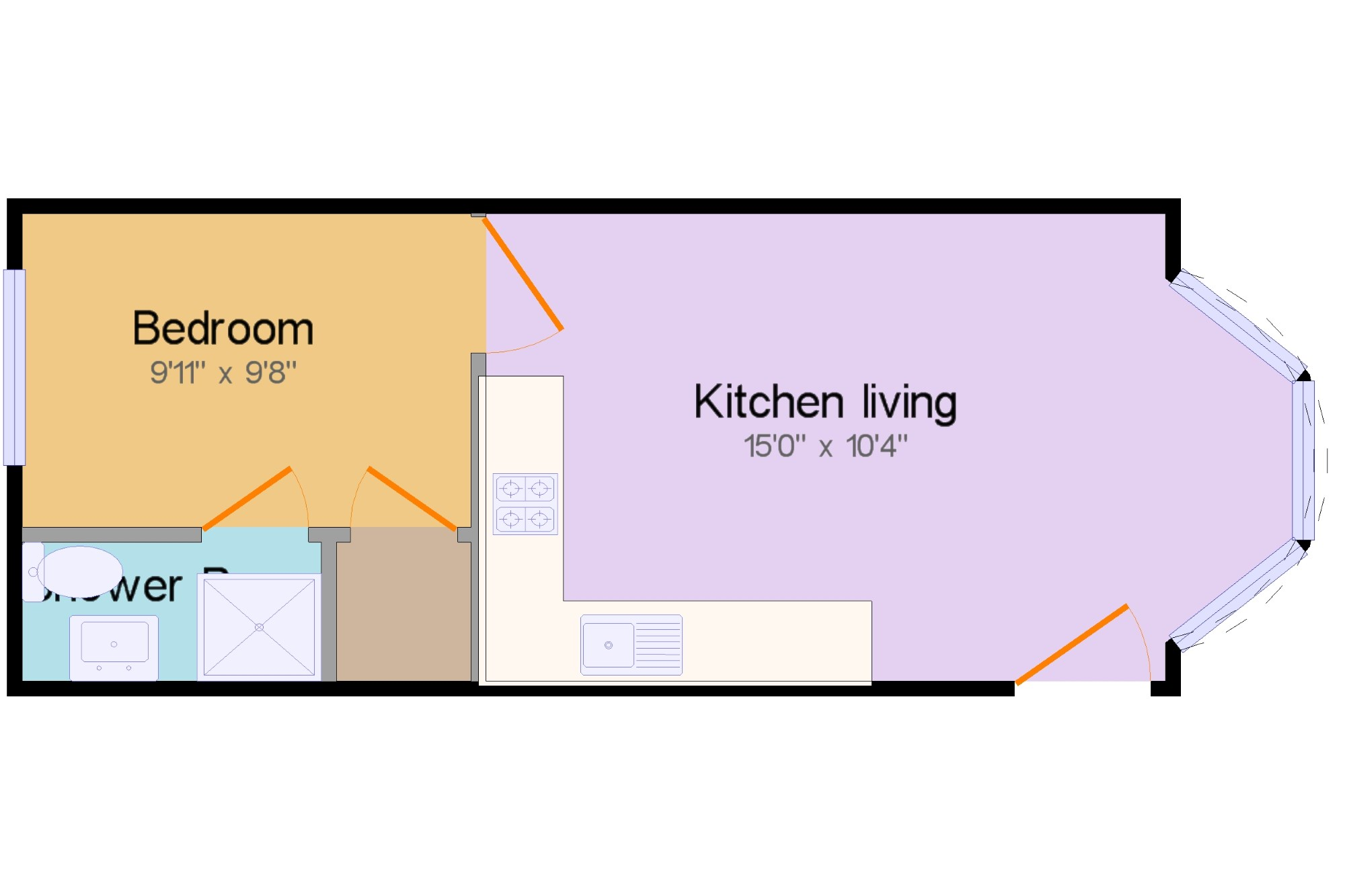 Newquay Cornwall England Tr7 1 Bedroom Flat For Sale