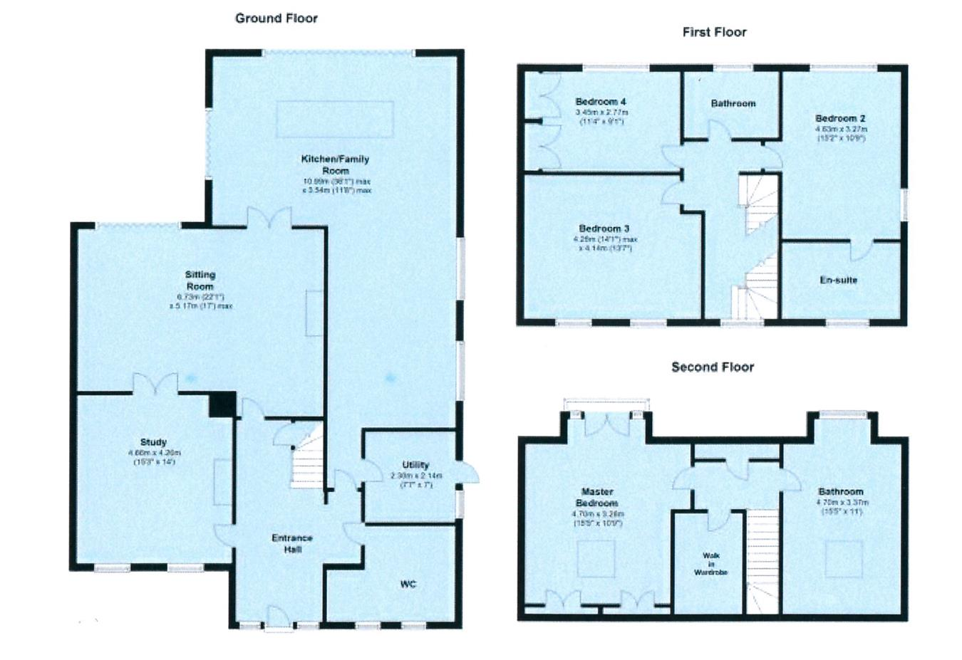 Leicester Road, Hinckley LE10, 4 bedroom detached house for sale ...
