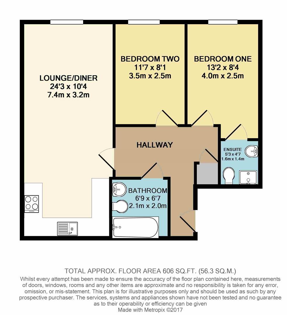 Welland Road Hilton Derby De65 2 Bedroom Flat For Sale
