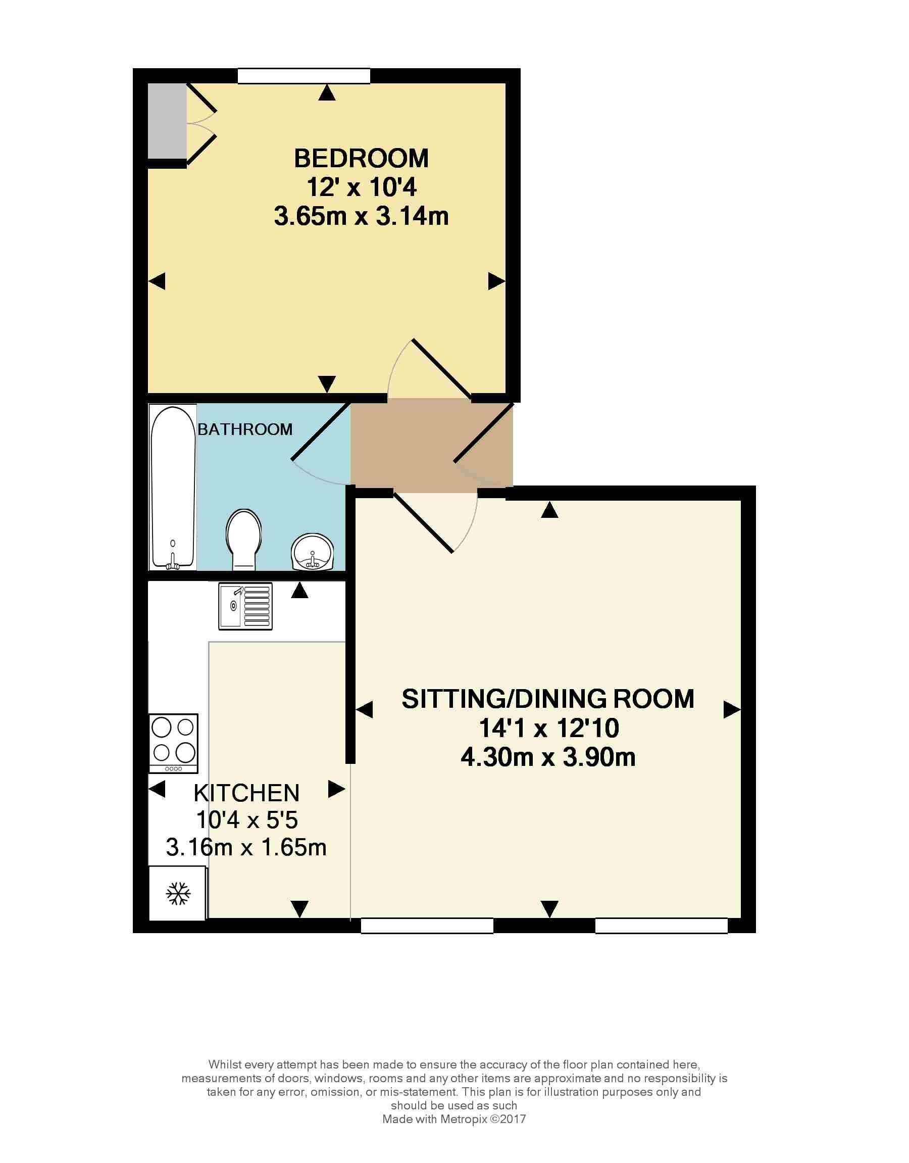 1 Bedroom Flat For Sale 45354971 Primelocation