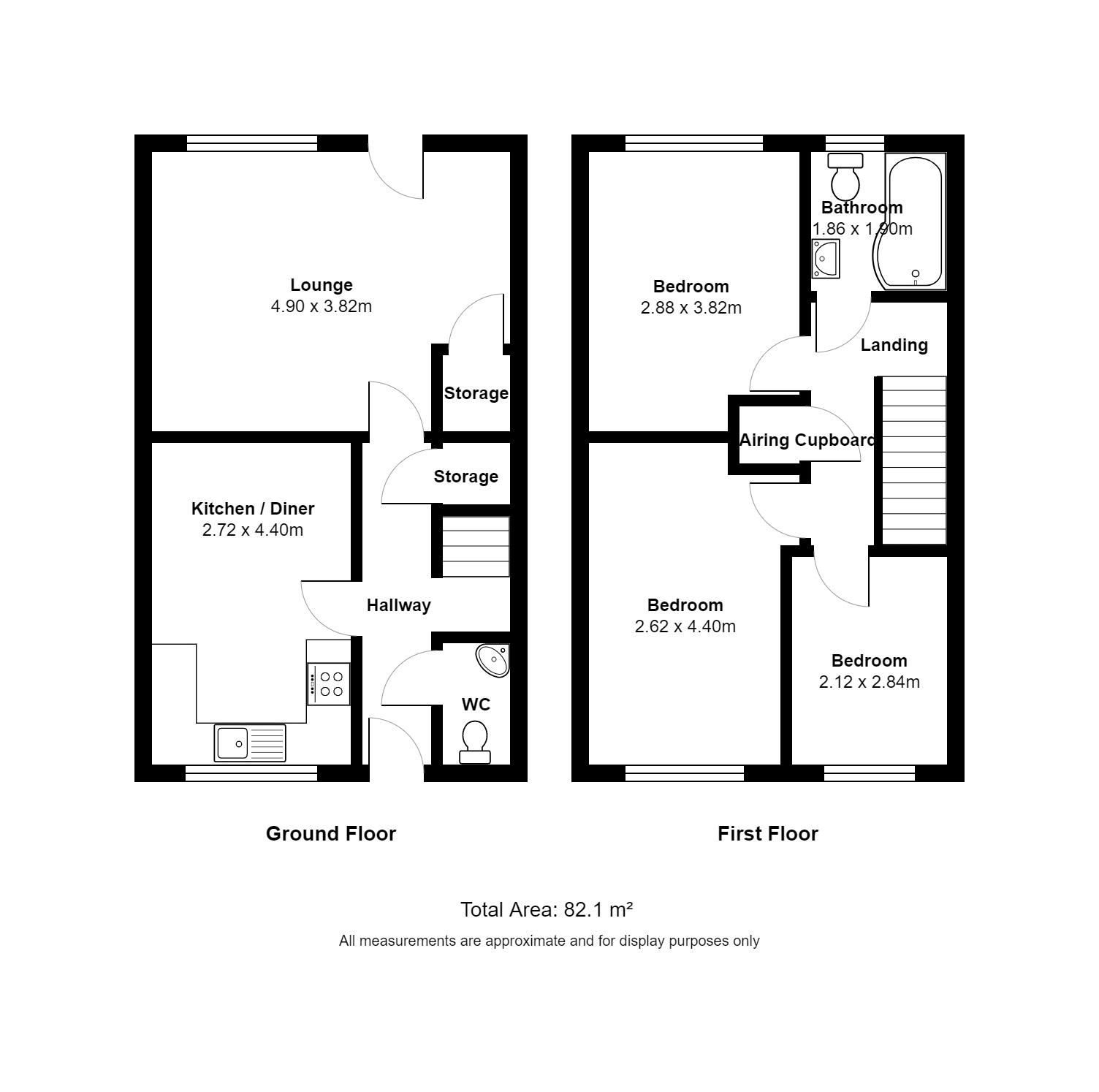 3 bed semi detached house for sale in arundel road luton lu4