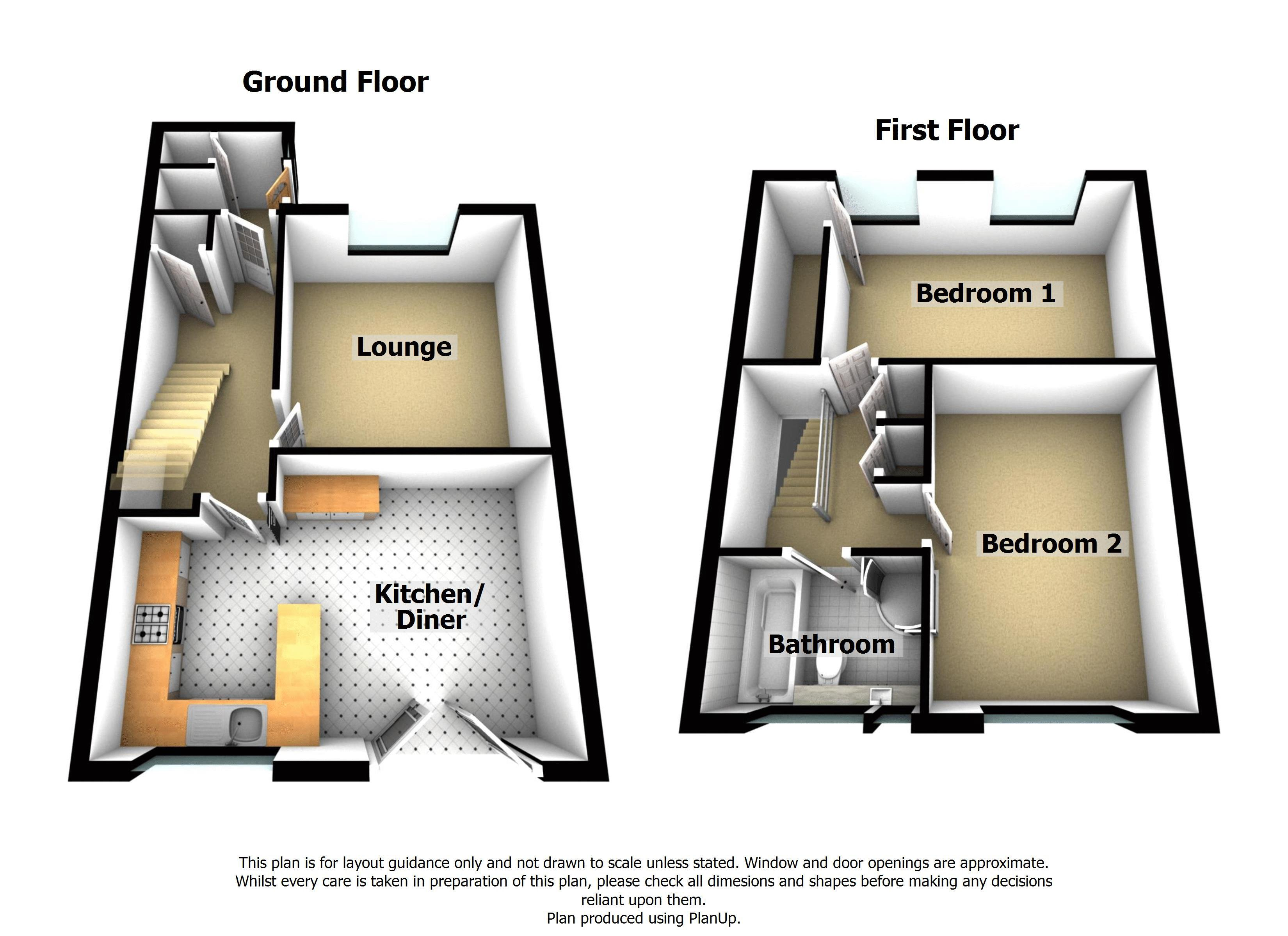 2 Bedrooms Terraced house for sale in Kitswell Gardens, Quinton, Birmingham B32