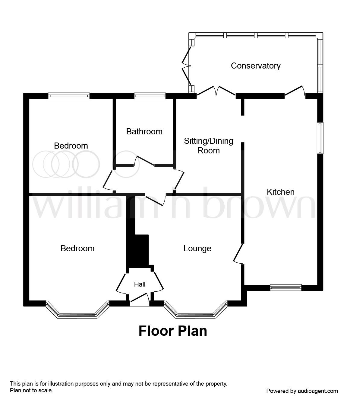 Kirkley Run, Lowestoft NR33, 3 Bedroom Detached Bungalow