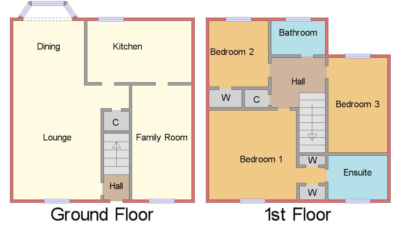 Donaldswood Park Paisley Renfrewshire Pa2 3 Bedroom