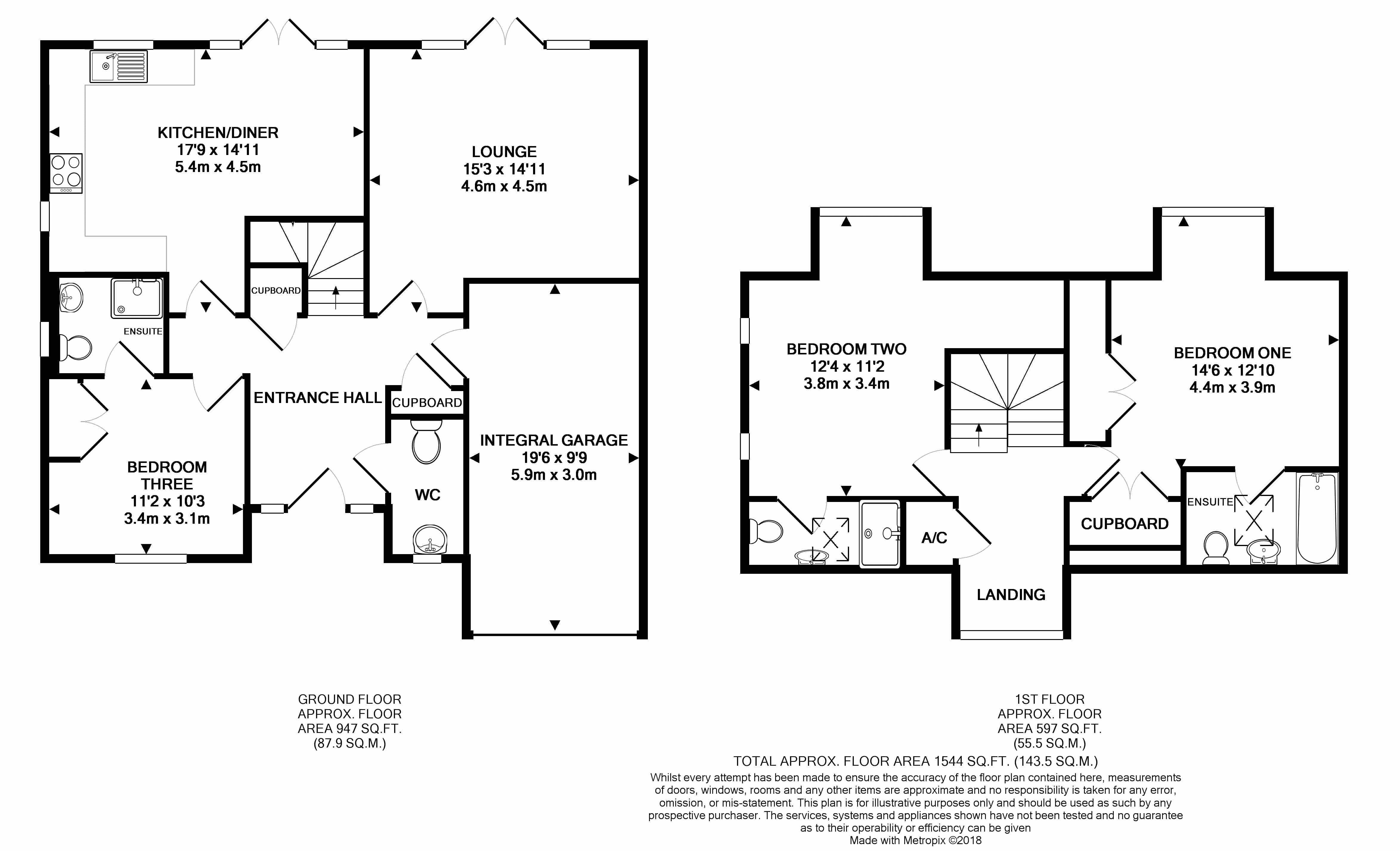 3 bed detached house for sale in south downs rise  havant