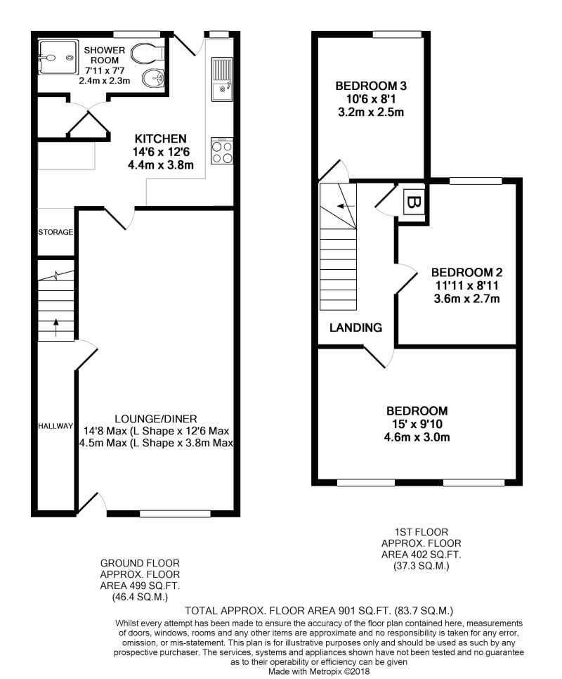 3 Bedrooms Terraced house for sale in Telekebir Road Hopkinstown, Pontypridd, Rhondda Cynon Taff CF37