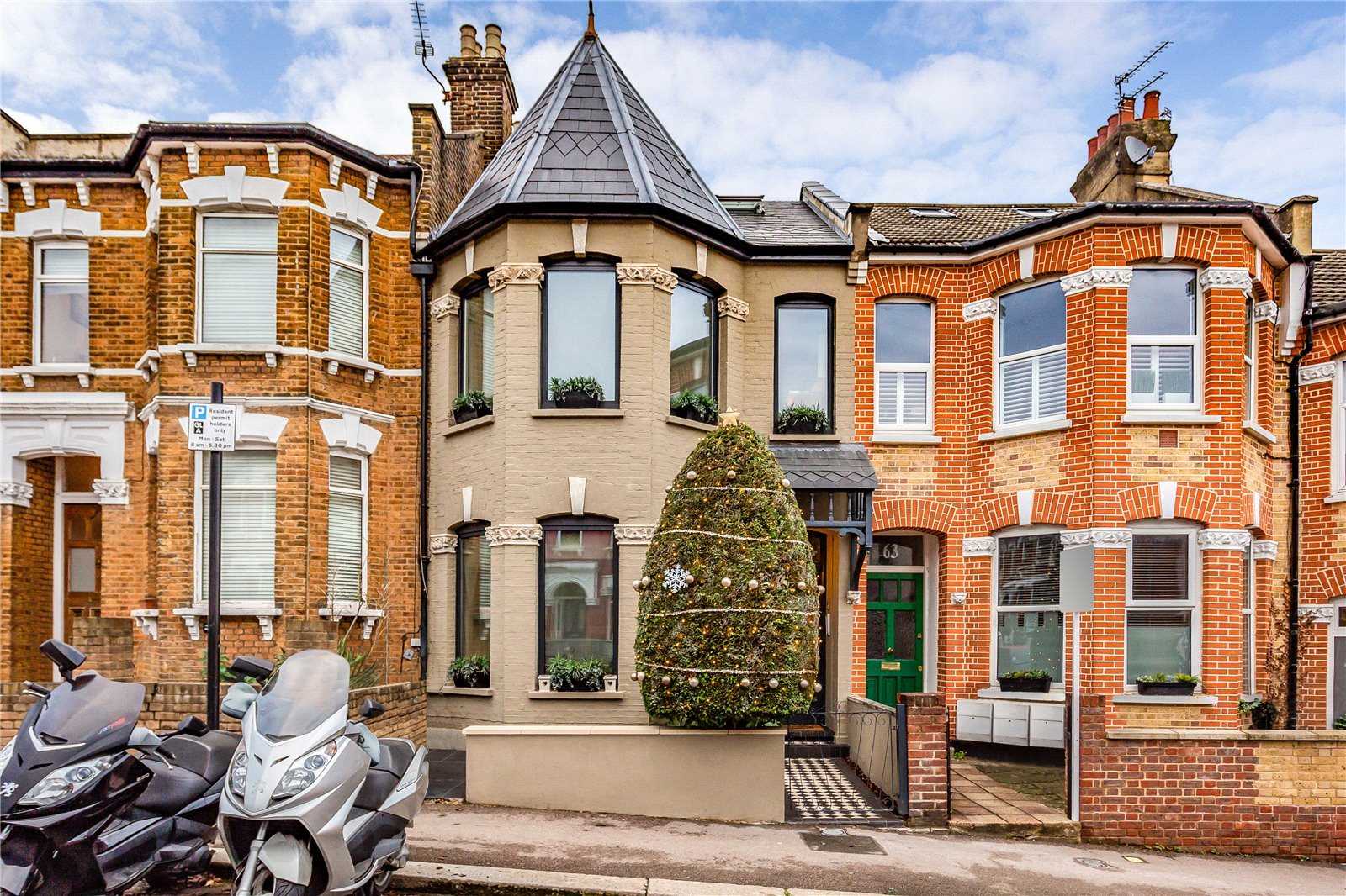 5 bed terraced house for sale in Duckett Road, London N4 - Zoopla