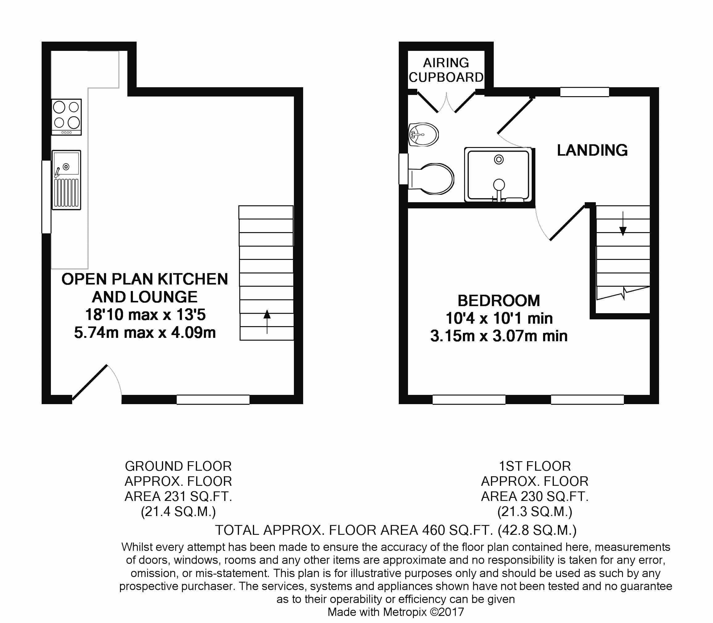 1 bed end terrace house for sale in feversham lane for 1 park terrace glastonbury