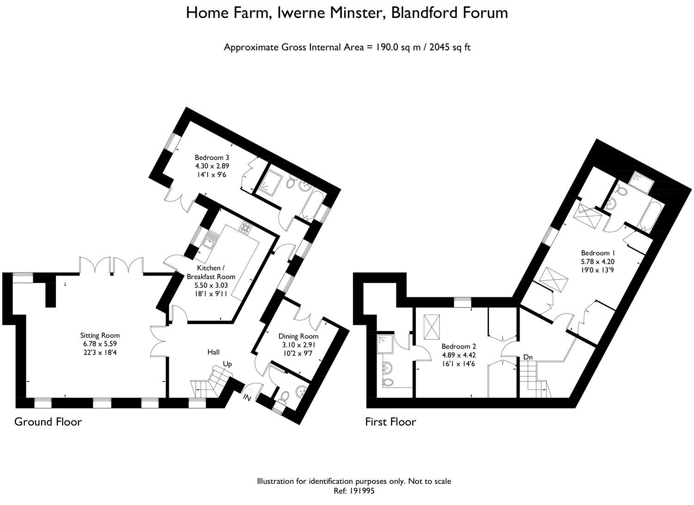 Home farm iwerne minster blandford forum dt11 3 bedroom for Blandford homes floor plans