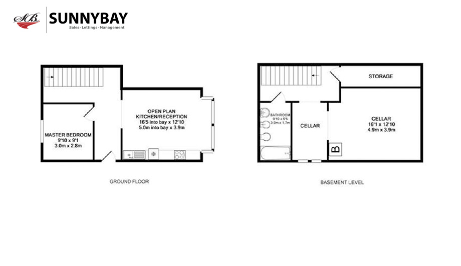 1 bedroom duplex for sale 45369591 primelocation for Up and down duplex plans