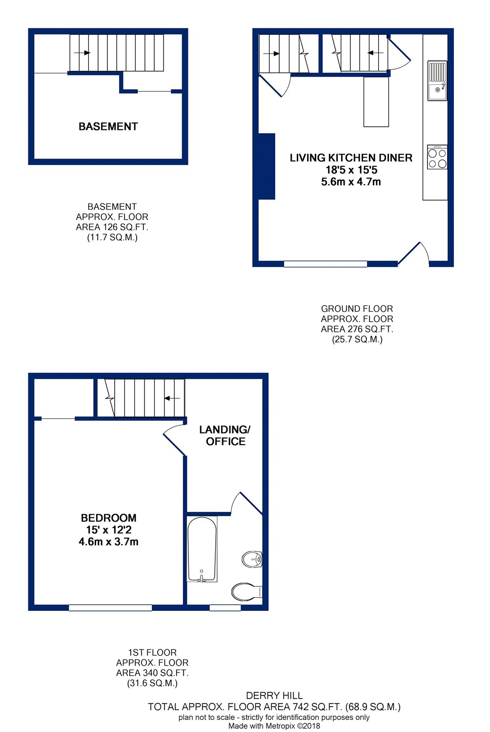 1 Bedrooms Terraced house for sale in Derry Hill, Menston, Ilkley, West Yorkshire LS29