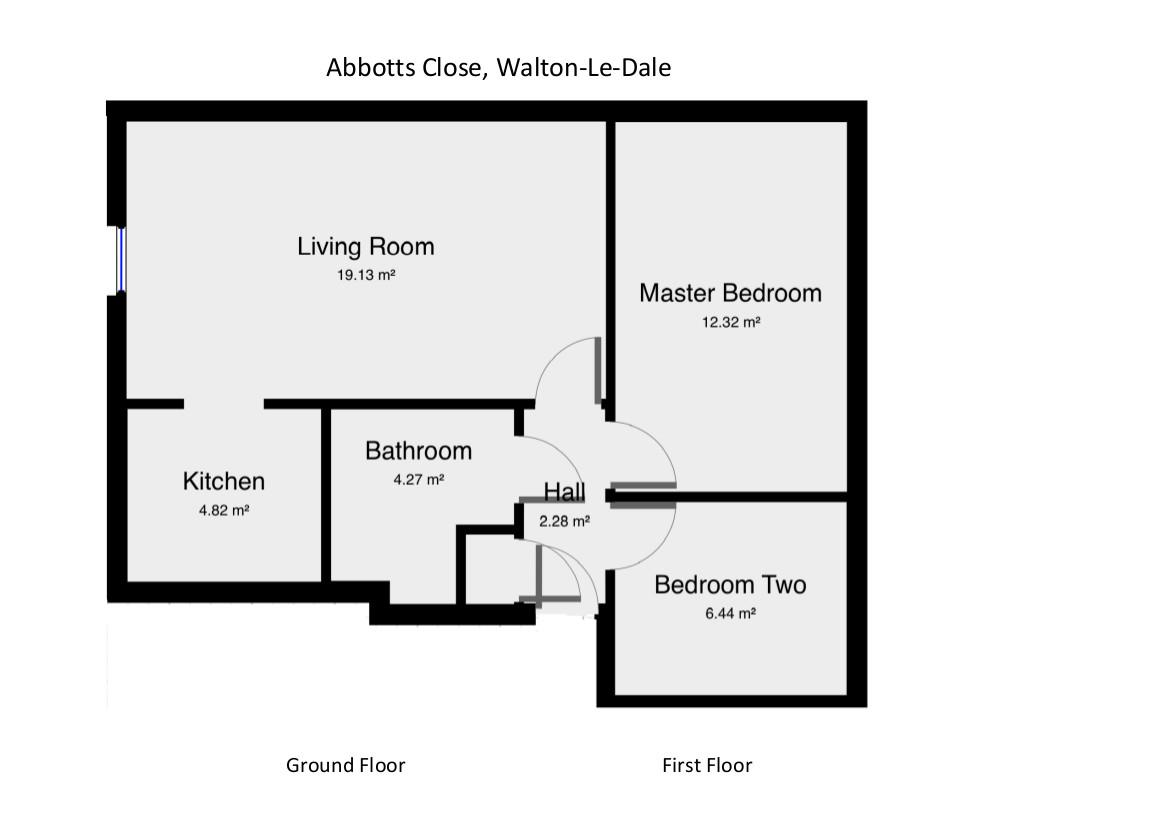 Abbotts close walton le dale preston pr5 2 bedroom flat for Abbotts flooring