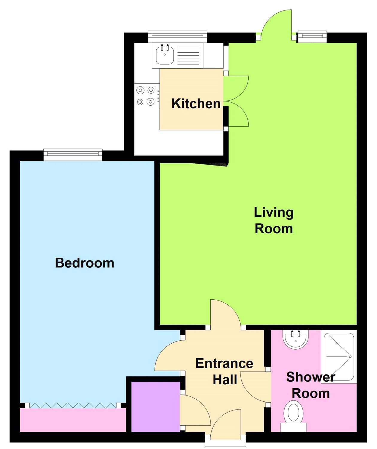 How Much Would The Friends Apartment Cost 1 Bed Flat For Sale In Kedleston Close Belper De56 Zoopla