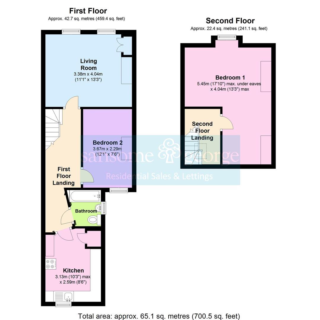 Oxford road reading rg30 2 bedroom maisonette for sale for Reading a floor plan