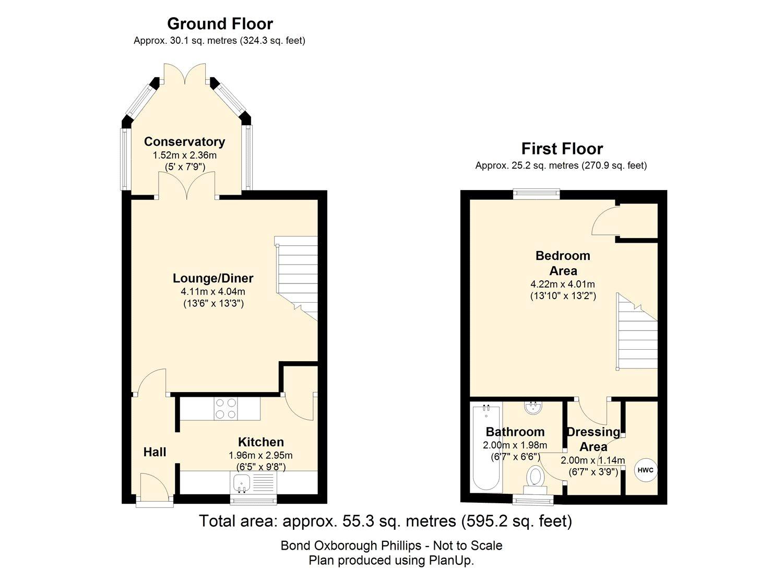 Clover Lane Close Boscastle PL35 1 Bedroom Terraced House For Sale