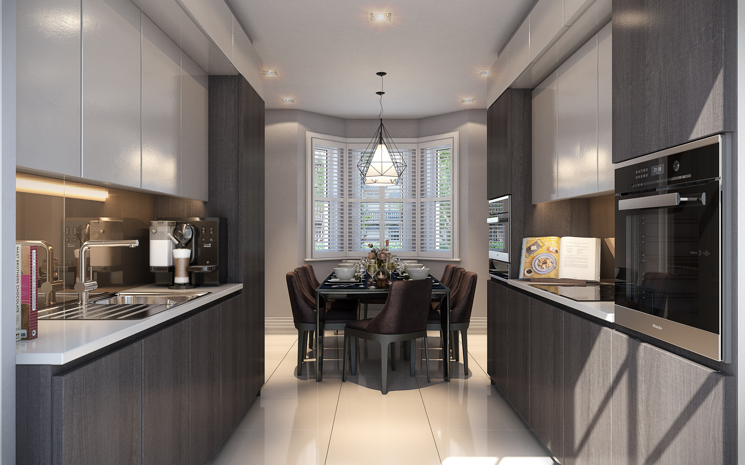 Lusso Homes,Kitchen