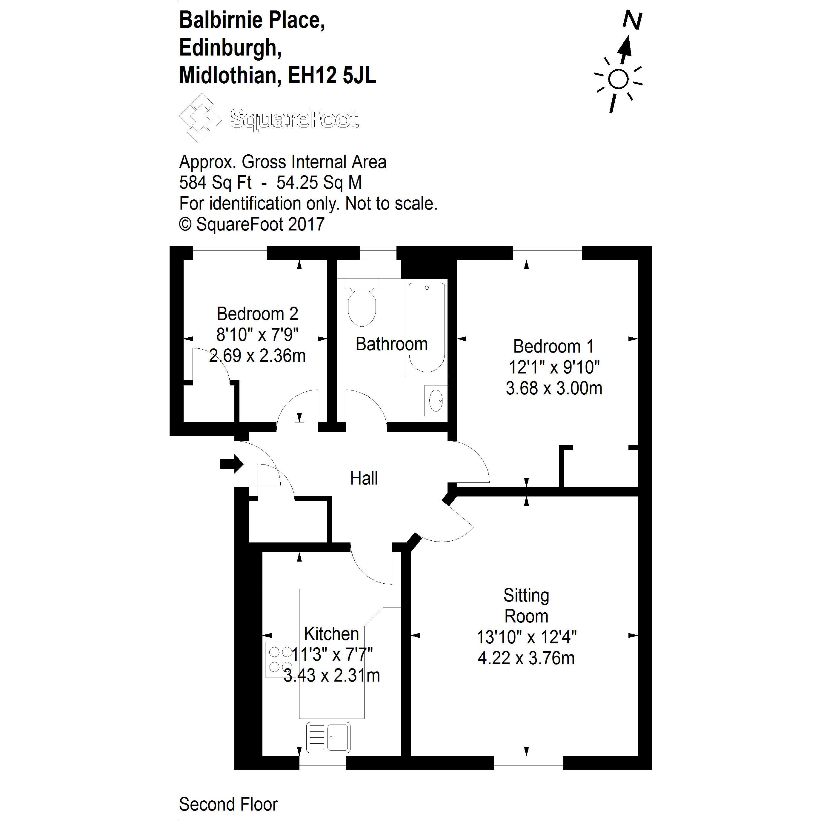 Property For Sale Balbirnie Place Edinburgh