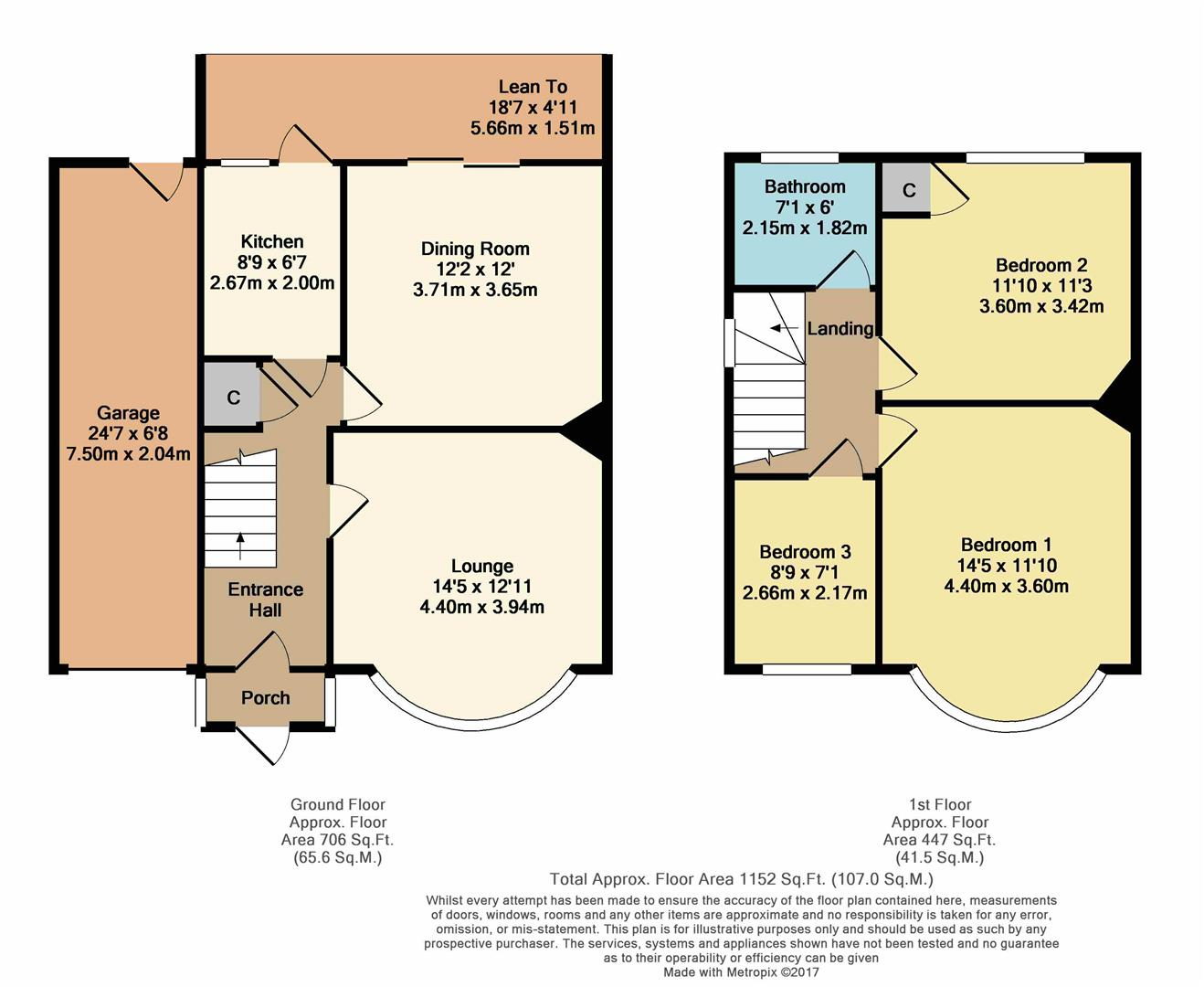 Marlborough road bexleyheath da7 3 bedroom semi detached for Marlborough house floor plan