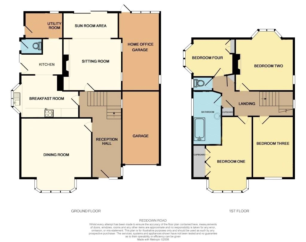 Gatwick Airport Floor Plan Reddown Road Coulsdon Cr5 4 Bedroom Detached House For
