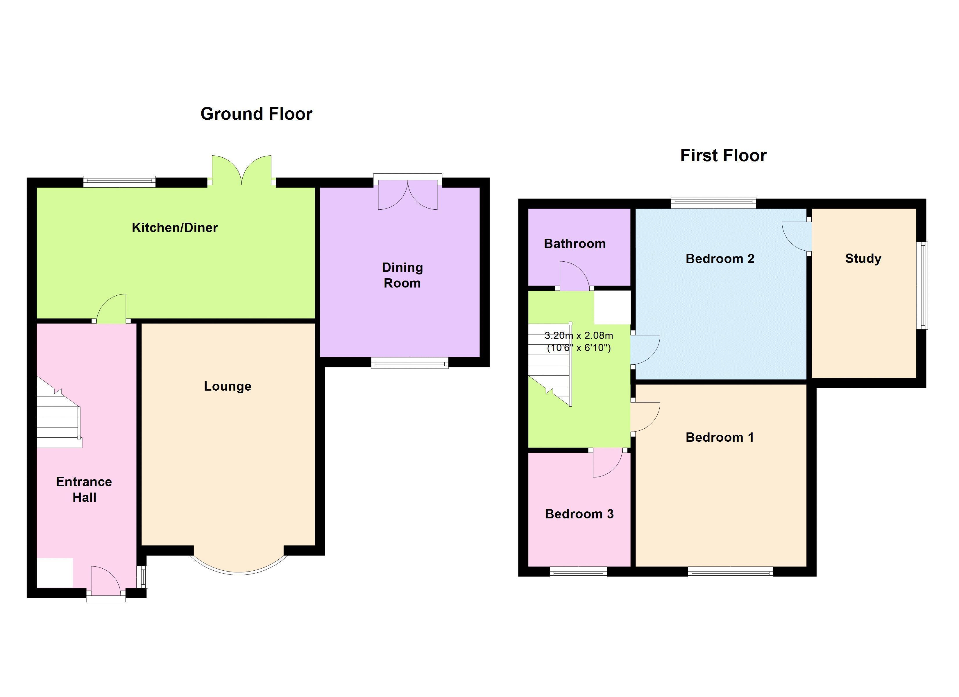 Shop Checkolite International 4 Light Ashfield Rustic: Cardinal Court, Sutton-In-Ashfield NG17, 4 Bedroom