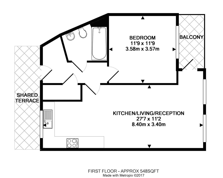 peach street  wokingham  berkshire rg40  1 bedroom flat
