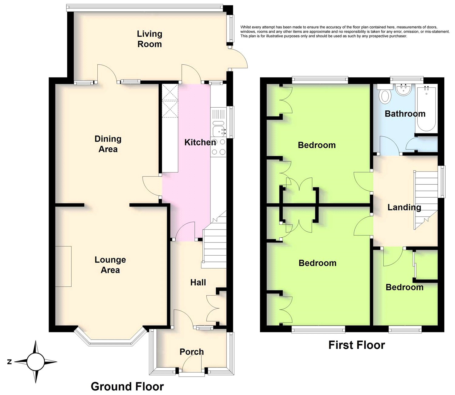 3 Bed End Terrace House For Sale In First Avenue Lancing