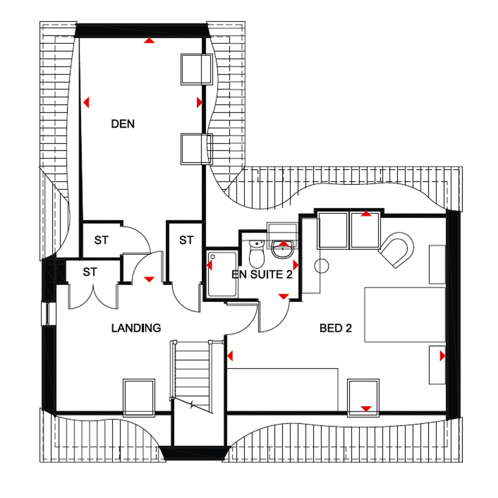 New Home 5 Bed Detached House For Sale In Moorecroft At Mahaddie Way Warboys Huntingdon Pe28 Zoopla