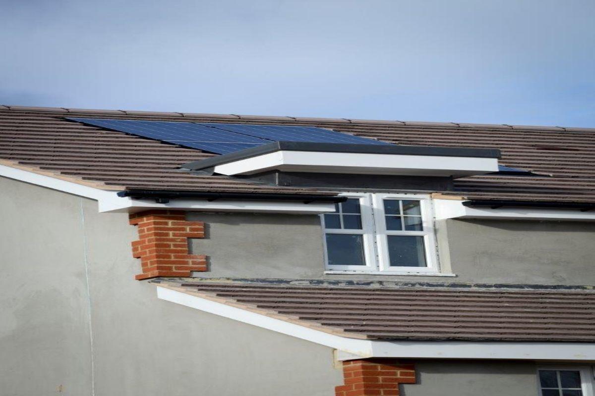 Ivory Homes,solar panels,Closeups