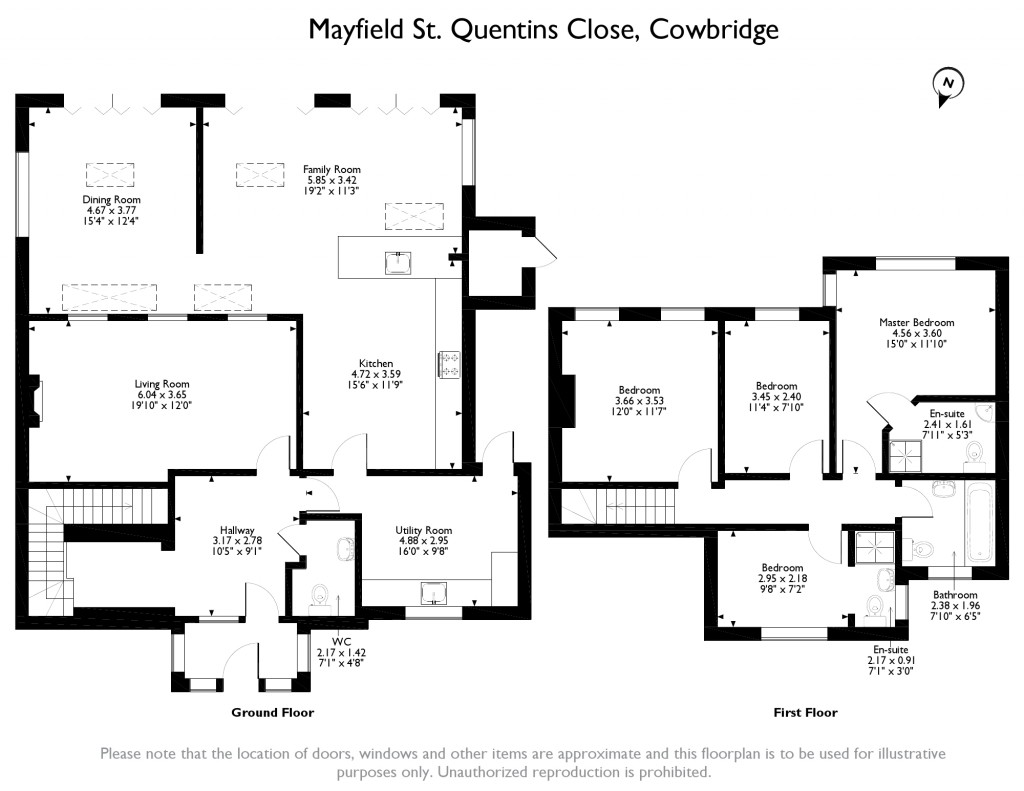 4 bed detached house for sale in st  quentins close