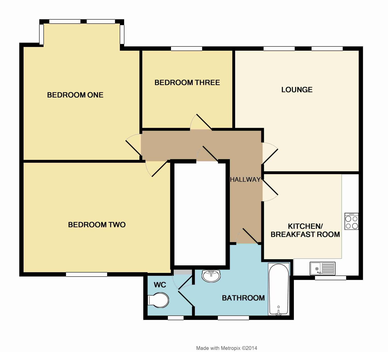 Queens Gate Villas, Plymouth, Devon PL4, 3 Bedroom Flat
