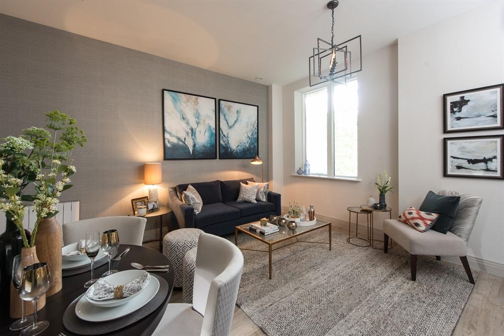 Rushmon Homes,Surbiton Point,Silestone,Lounge