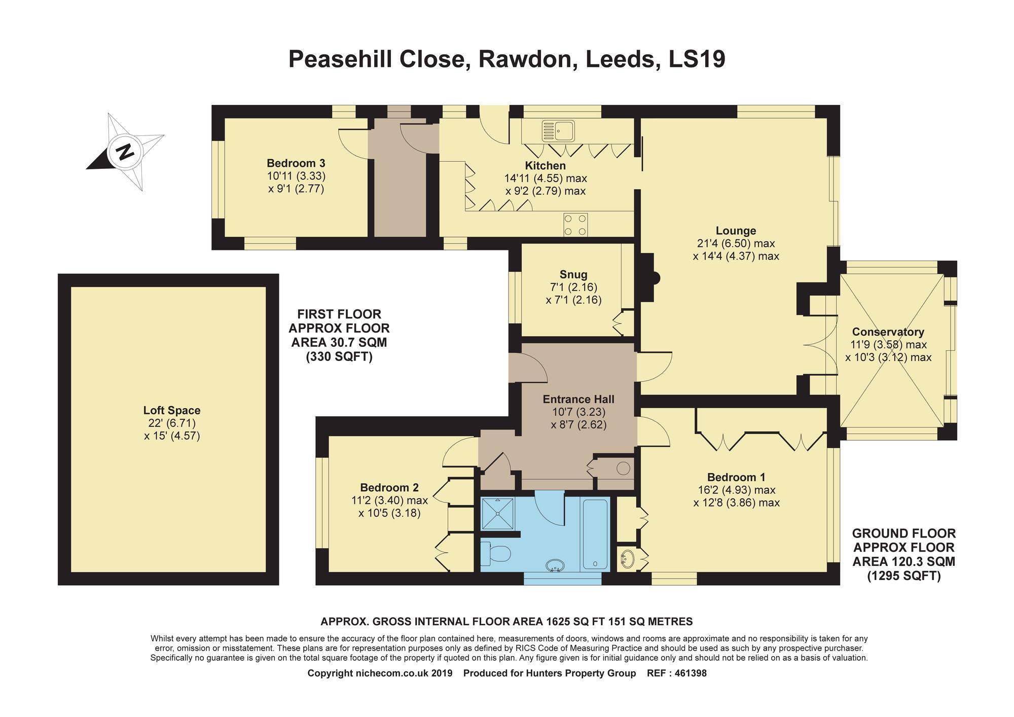 3 Bedrooms Detached bungalow for sale in Peasehill Close, Rawdon, Leeds LS19