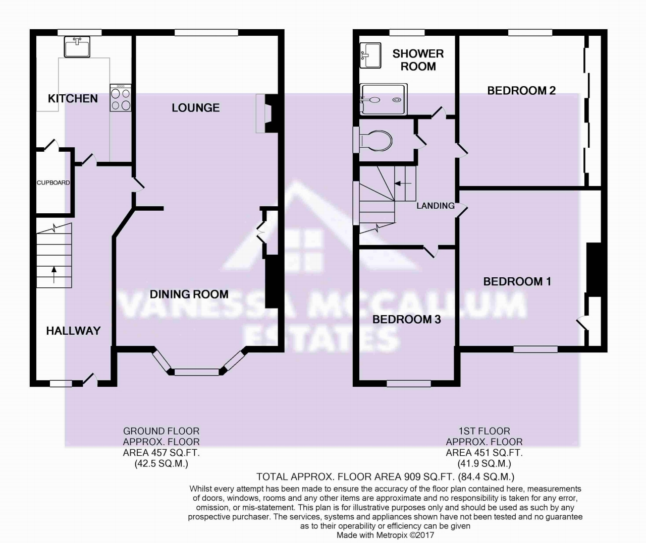 3 Bedrooms Semi-detached house to rent in Quakers Lane, Potters Bar EN6