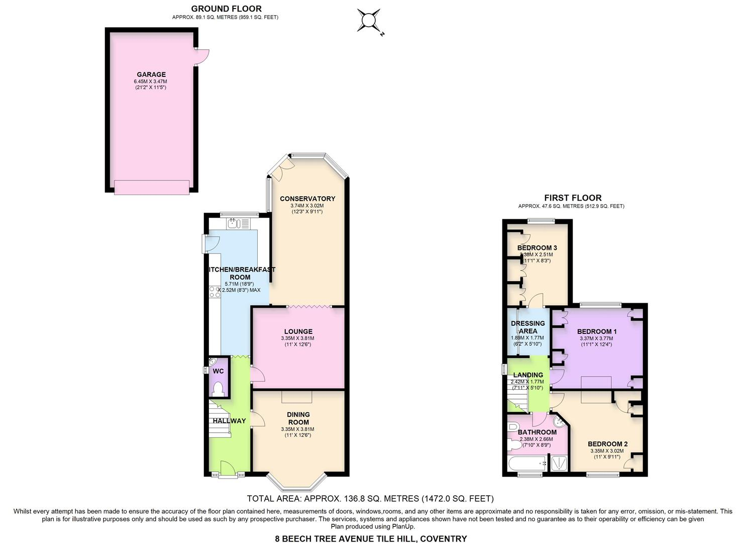 3 Bed Property For Sale In Sold Stc Beech Tree Avenue