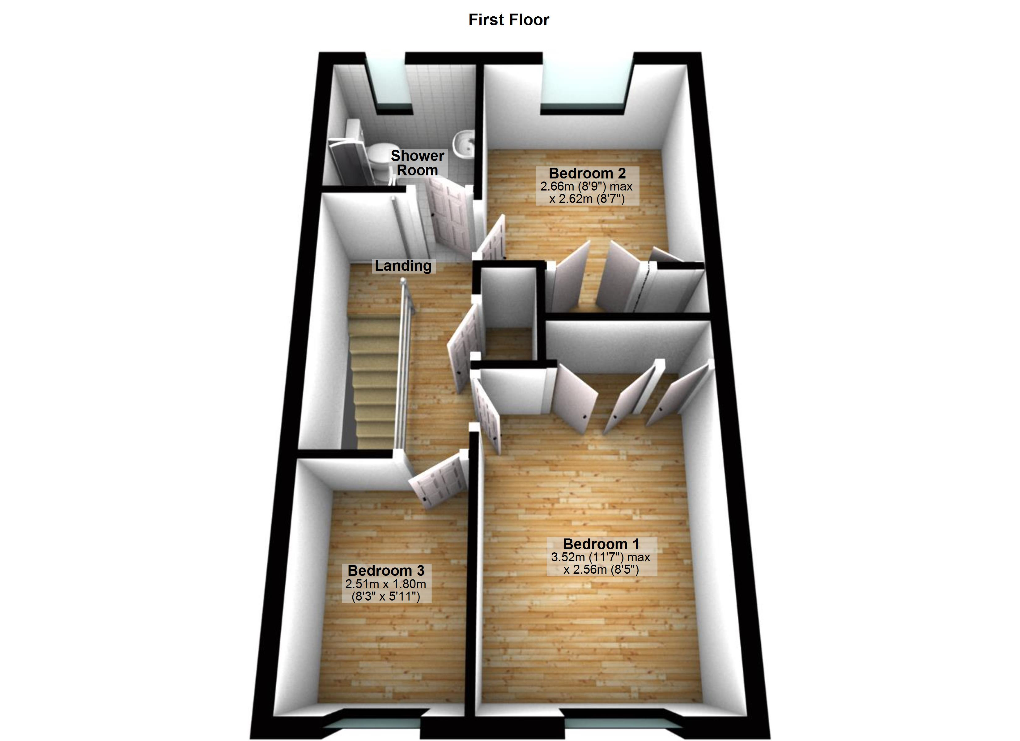 3 Bedroom Terraced House For Sale 46169771 Primelocation