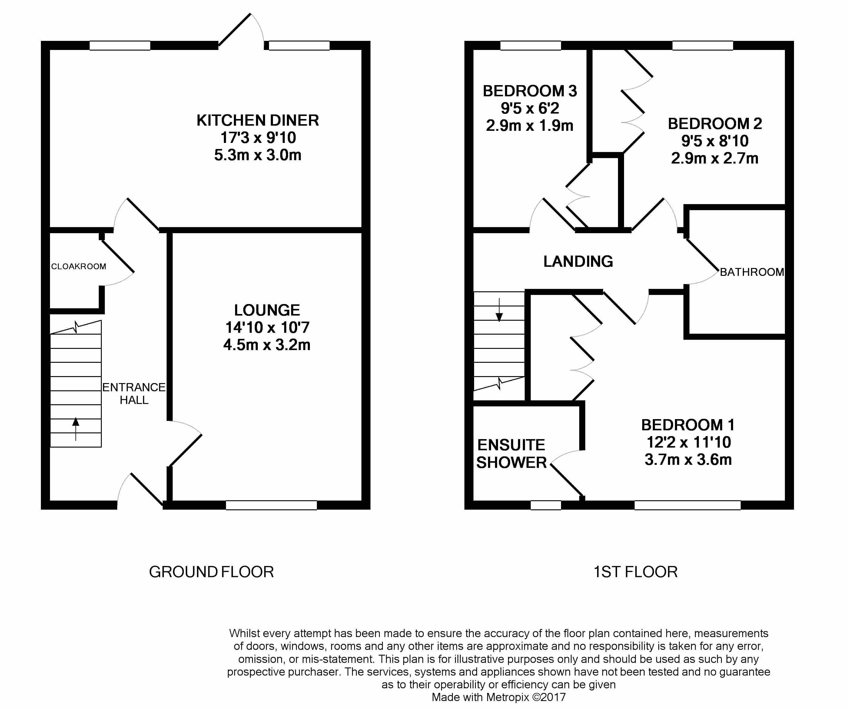 Bedroom Furniture Grimsby: Osprey Drive, Great Coates, Grimsby DN37, 3 Bedroom