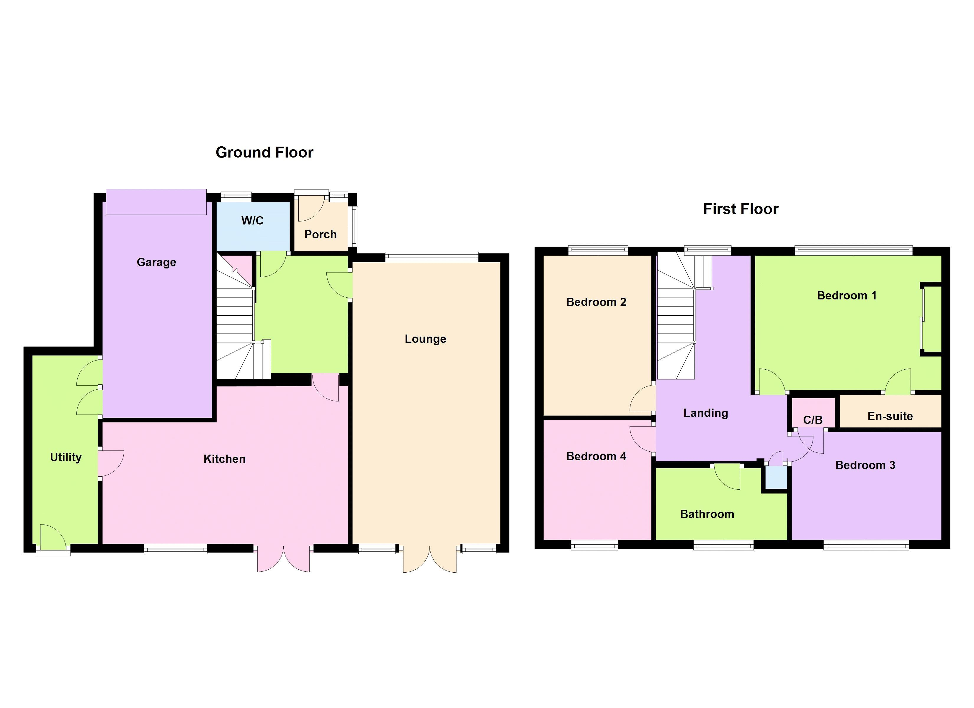 Quarry Road Ravenshead Nottingham Ng15 4 Bedroom