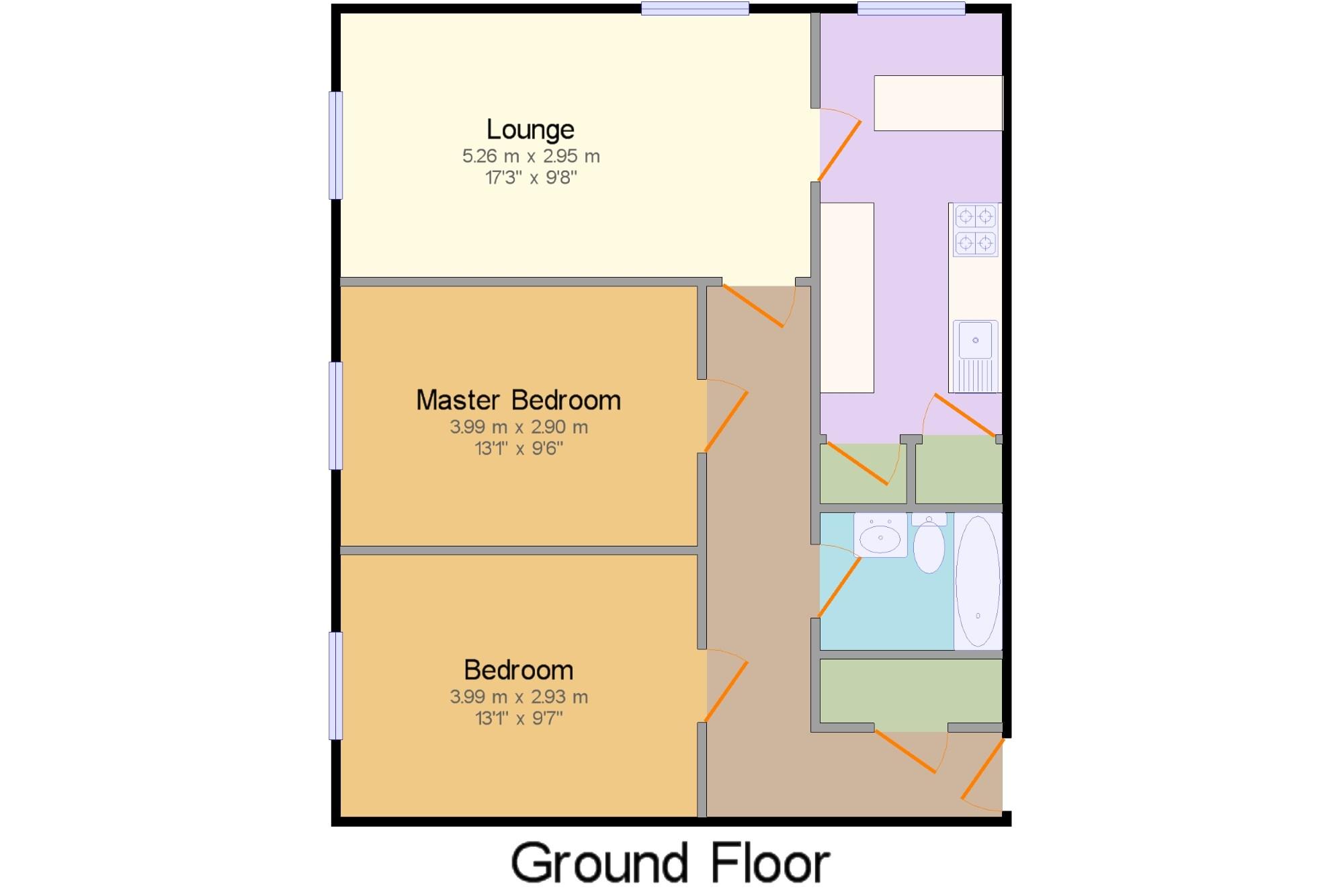 Warwick Crescent Southsea Hampshire Po5 2 Bedroom Flat