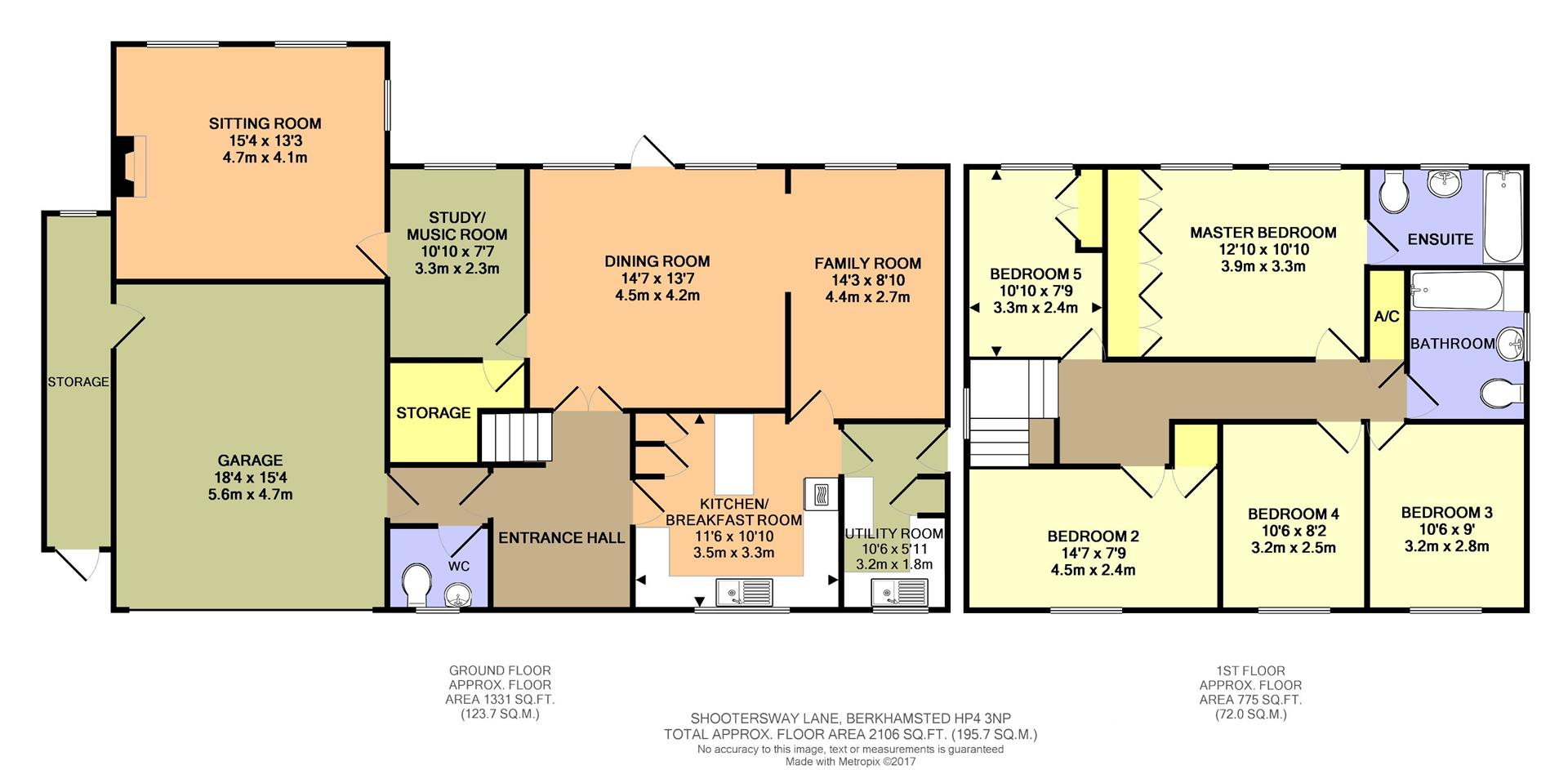 5 bed detached house for sale in wayfarers park for 16 brookers lane floor plans