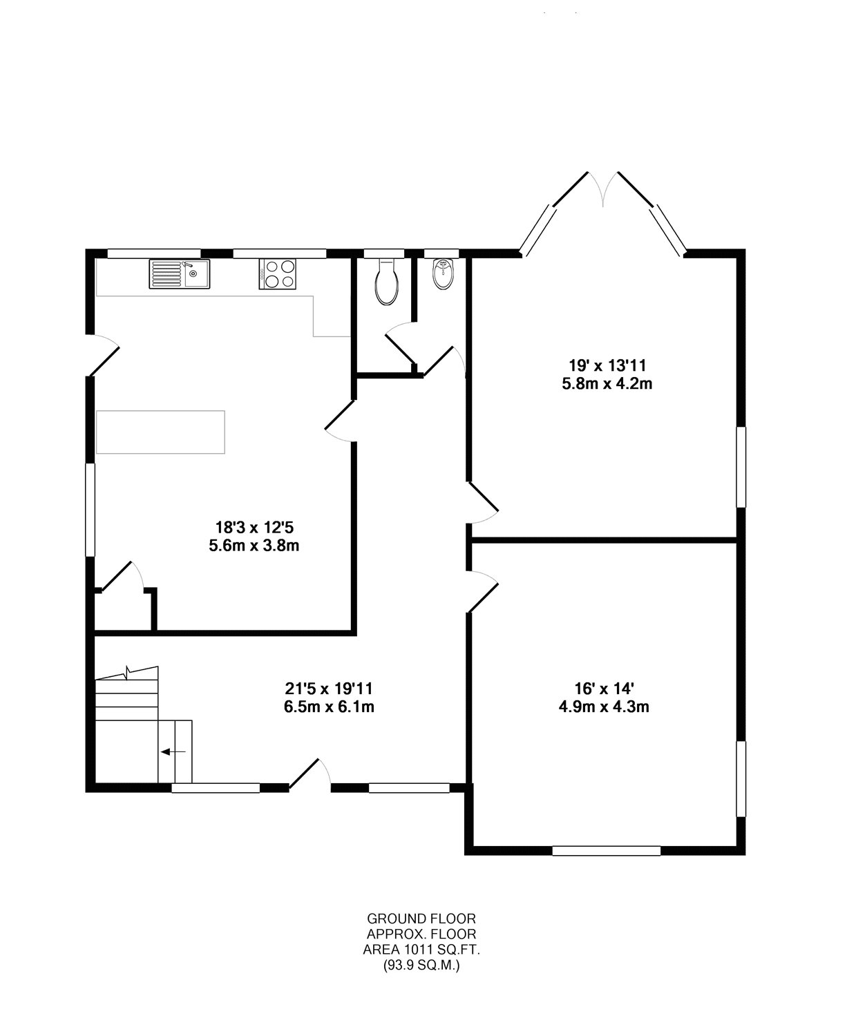 5 bed detached house for sale in coombe lane  stoke bishop
