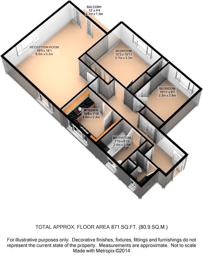 Sheldon Avenue London N6 2 Bedroom Flat To Rent