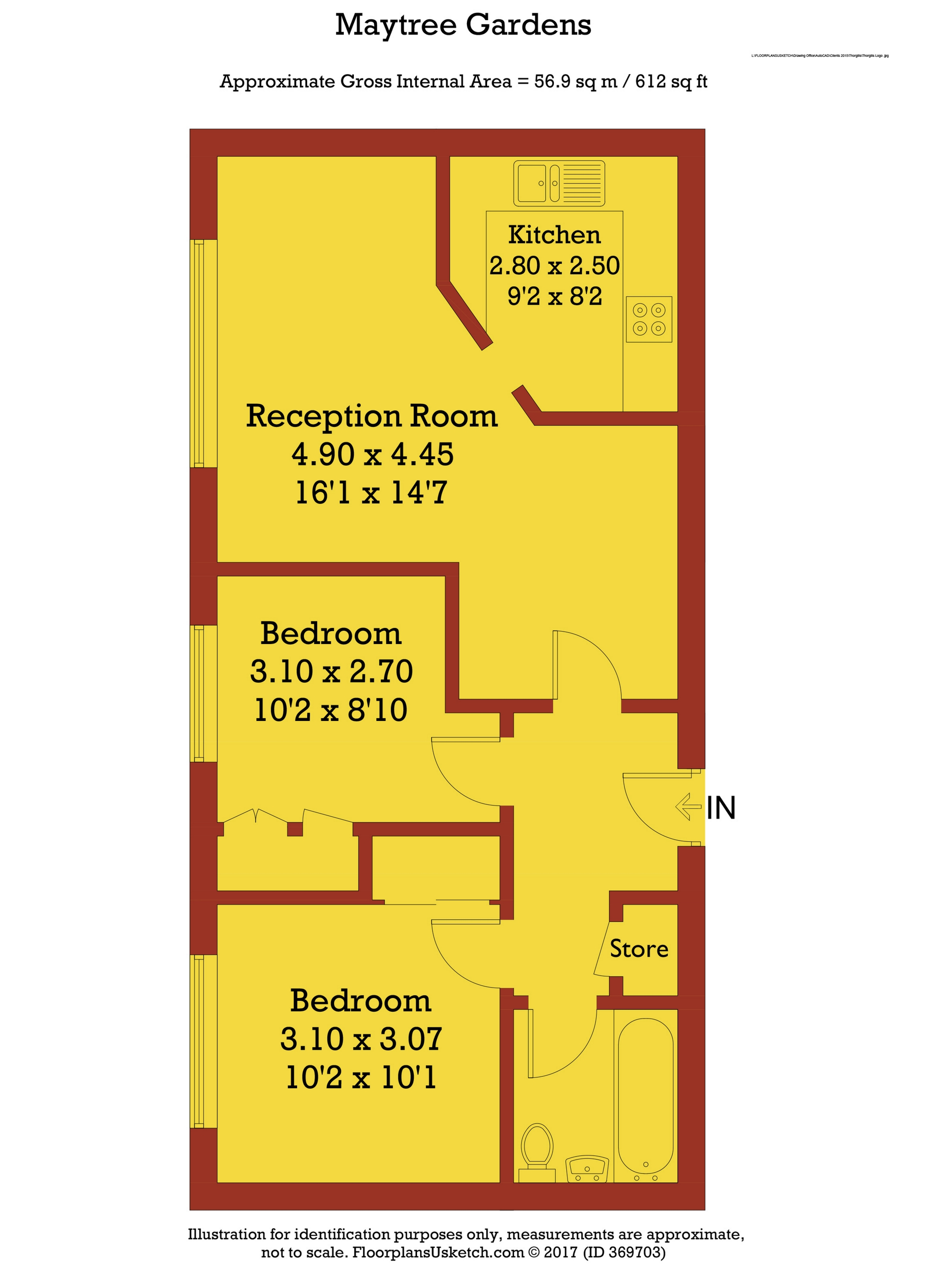 Gatwick Airport Floor Plan Maytree Gardens South Ealing Road Ealing W5 2 Bedroom